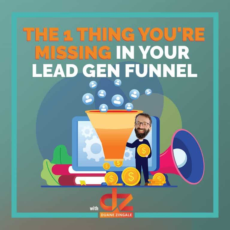 MYMS 83: The 1 thing you're missing in your lead gen funnel
